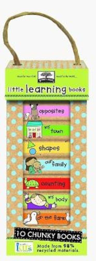 Little Learning Books: 10 Chunky Books, Hardcover