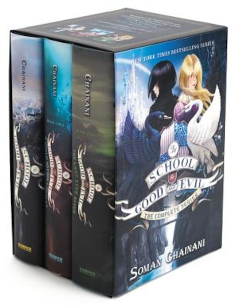 The School for Good and Evil Series Box Set: Books 1-3, Hardcover