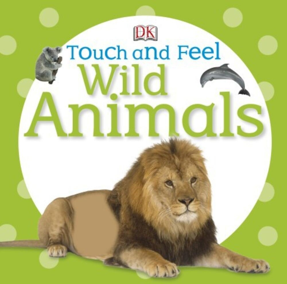 Coperta Carte Touch and Feel Wild Animals