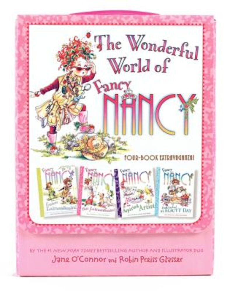 Fancy Nancy: The Wonderful World of Fancy Nancy Four-Book Extravaganza!, Paperback