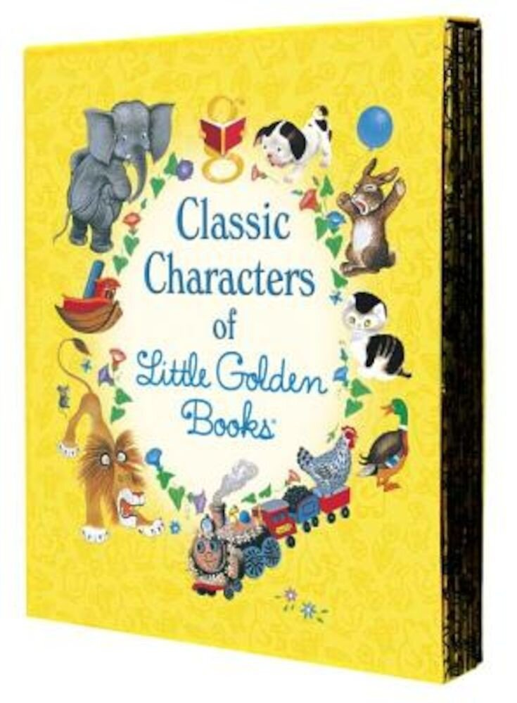 Classic Characters of Little Golden Books, Hardcover
