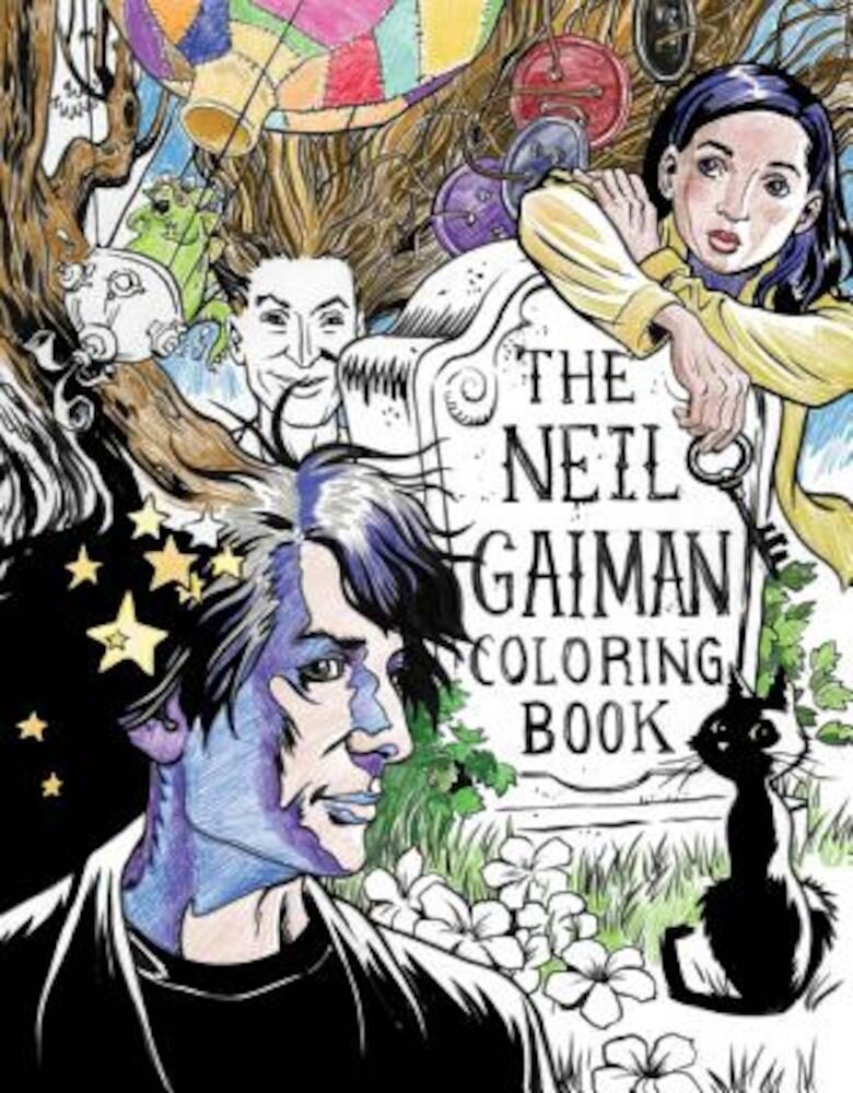 The Neil Gaiman Coloring Book, Paperback