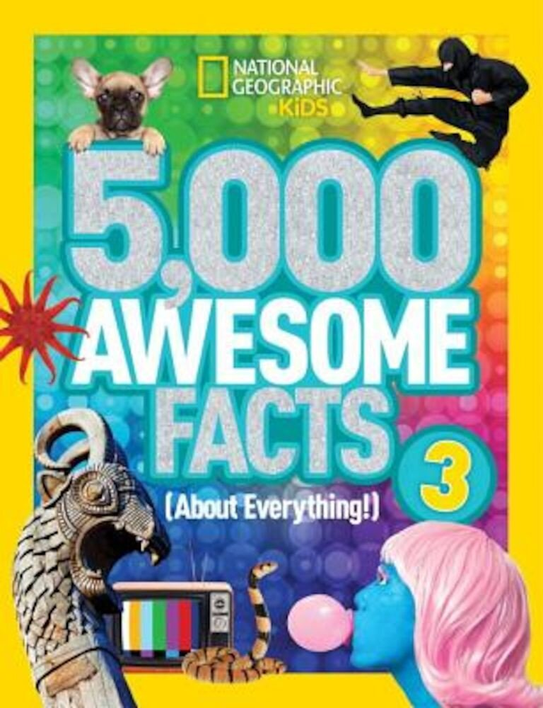 5,000 Awesome Facts (about Everything!) 3, Hardcover