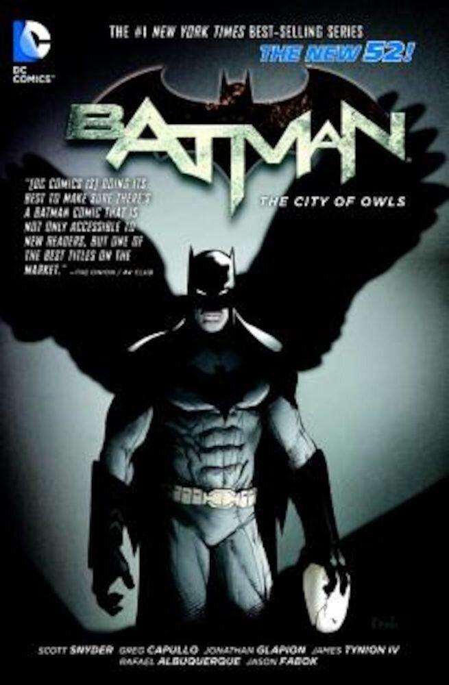 Batman Vol. 2: The City of Owls (the New 52), Paperback