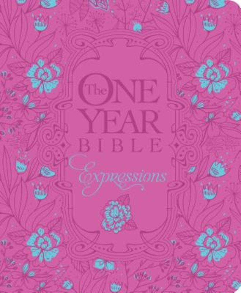 The One Year Bible Creative Expressions, Deluxe, Hardcover