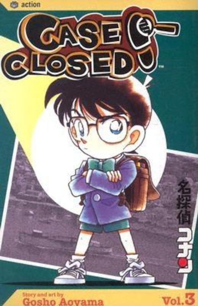 Case Closed, Volume 3, Paperback