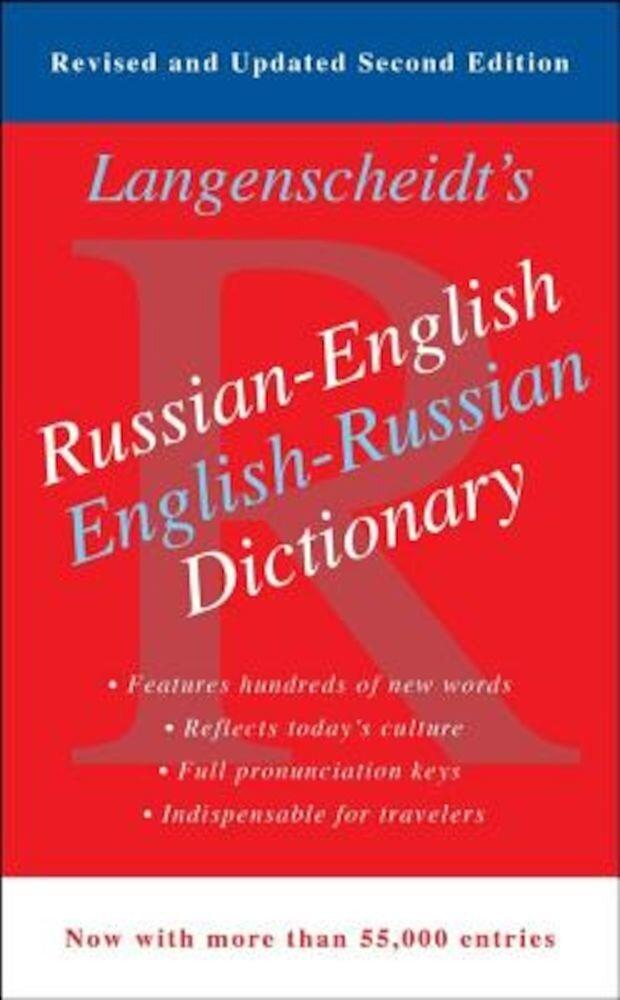 Langenscheidt's Russian-English Dictionary, Paperback