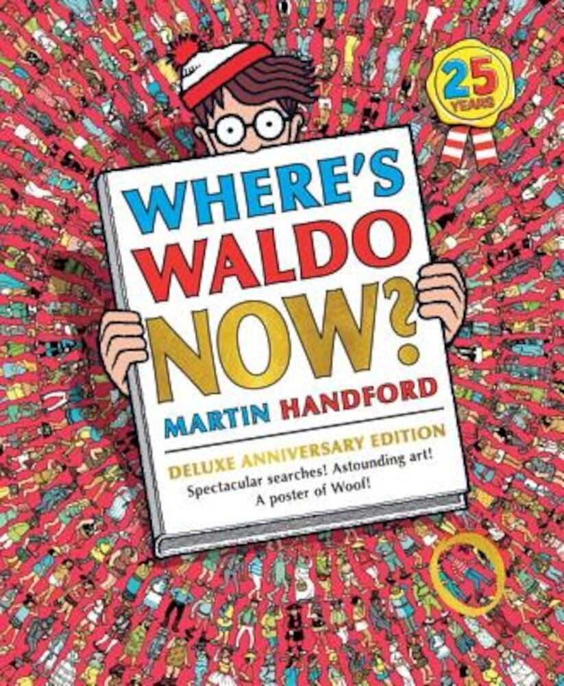 Where's Waldo Now?, Hardcover