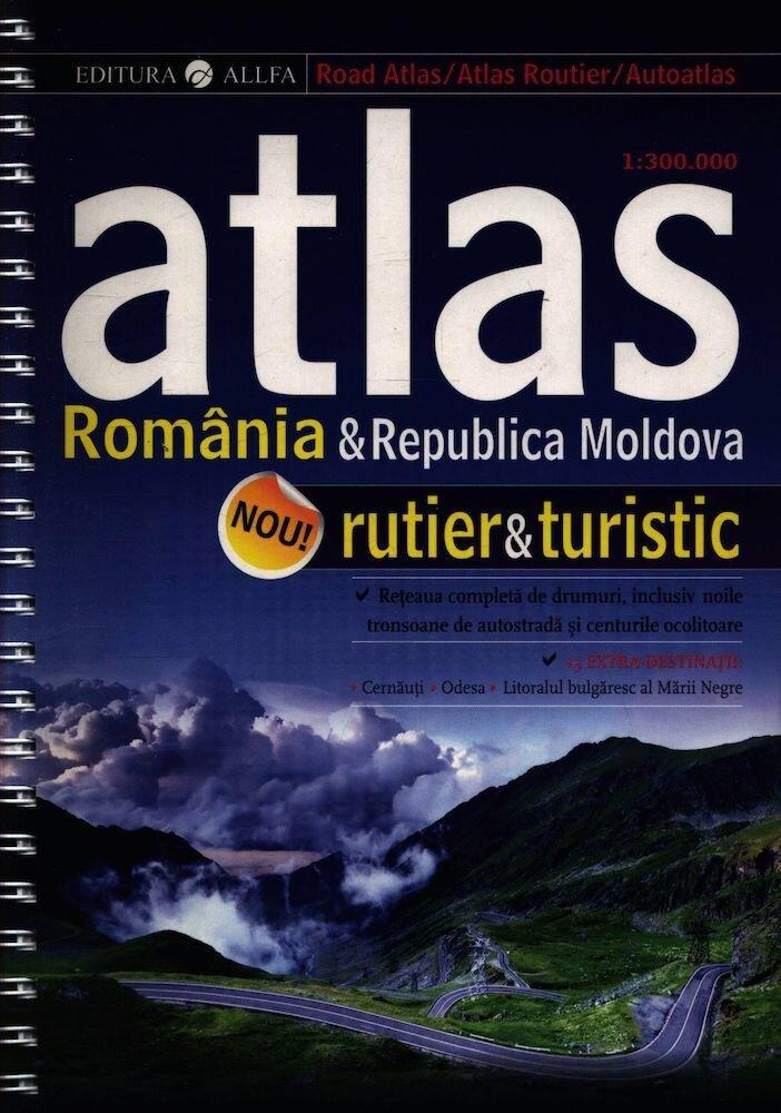 Atlas rutier & turistic. Romania & Republica Moldova