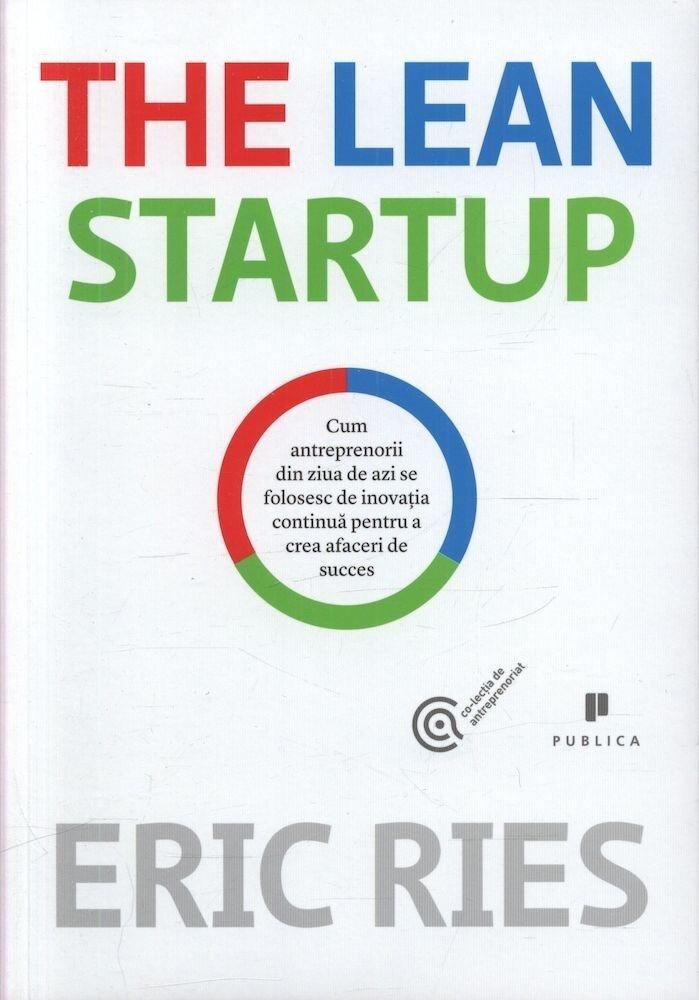 Coperta Carte The Lean Startup