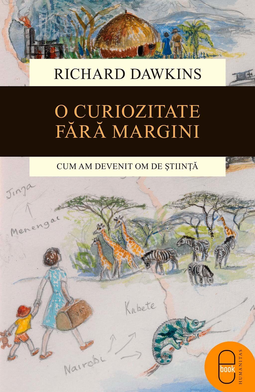 O curiozitate fara margini. Cum am devenit om de stiinta (eBook)