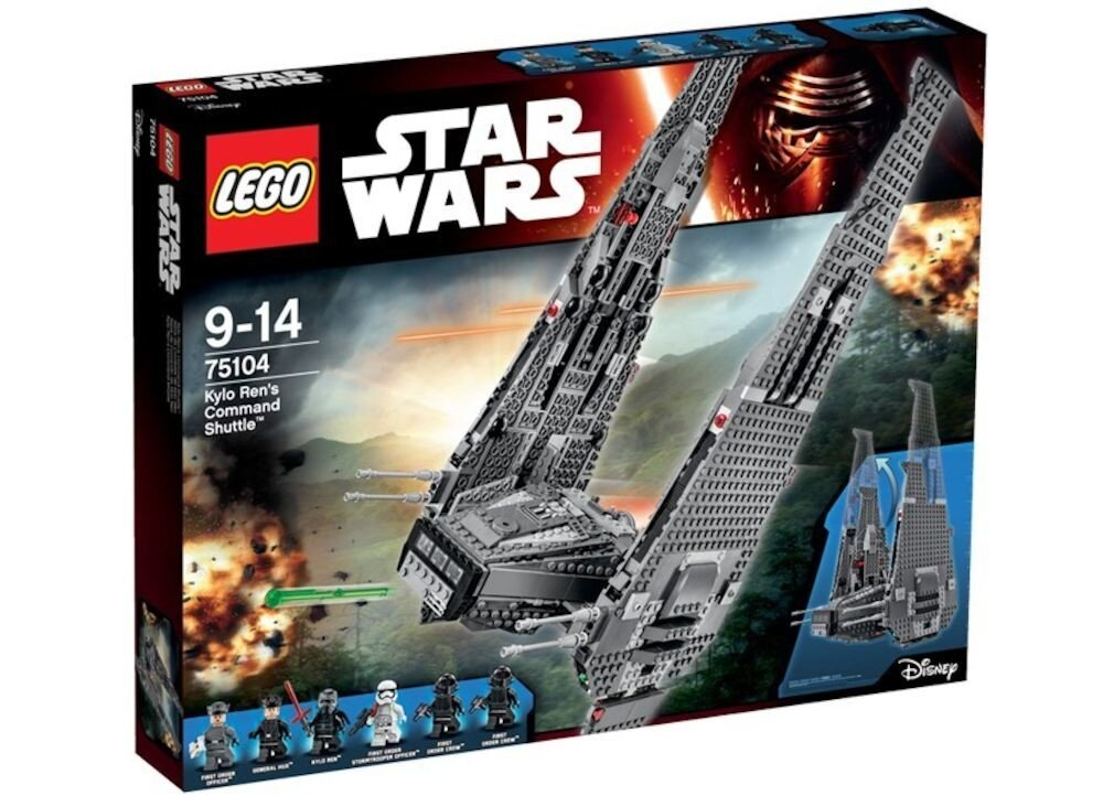 LEGO Star Wars, Kylo Ren's Command Shuttle 75104