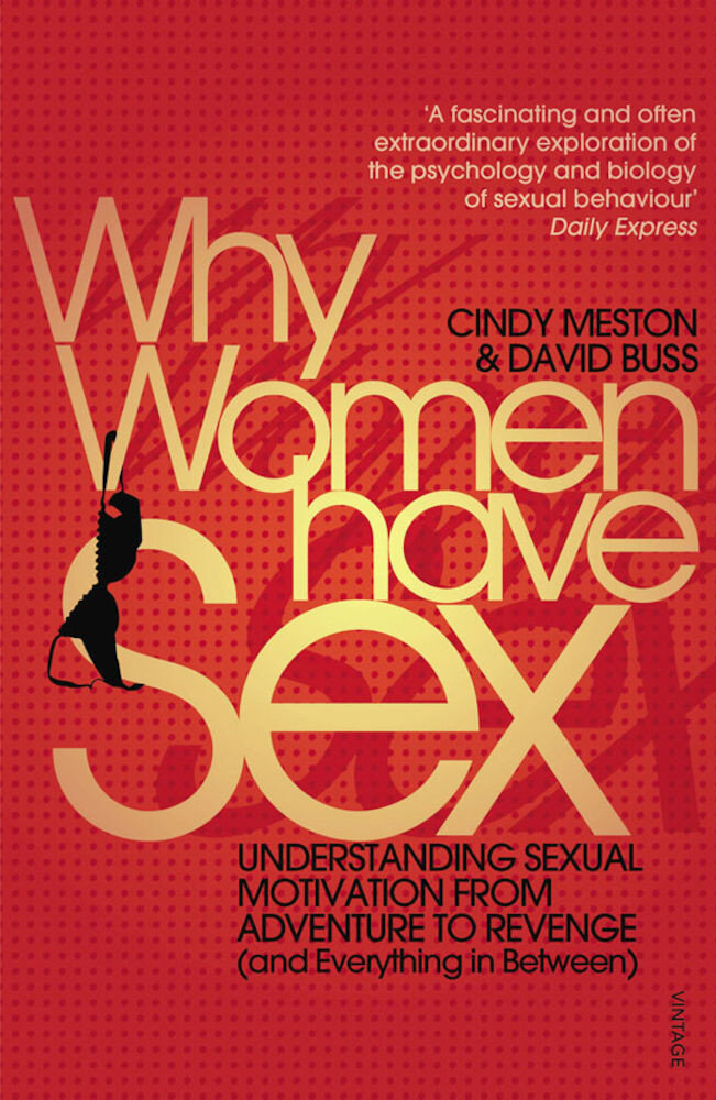 Coperta Carte Why Women Have Sex: Understanding Sexual Motivation from Adventure to Revenge