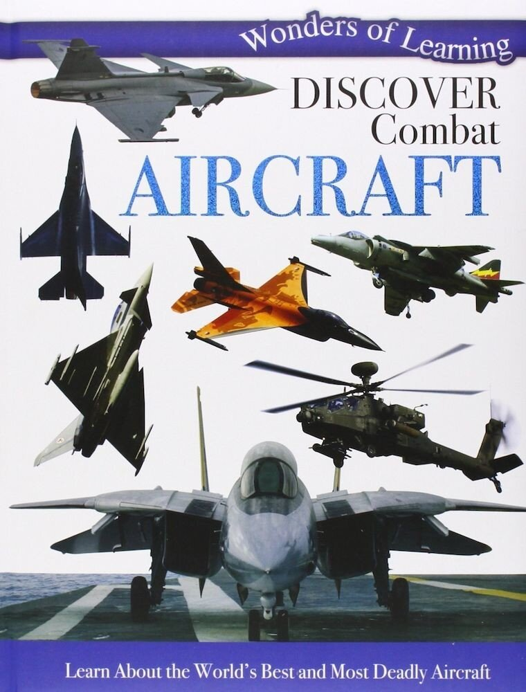 Coperta Carte Wonders of Learning: Combat Aircraft