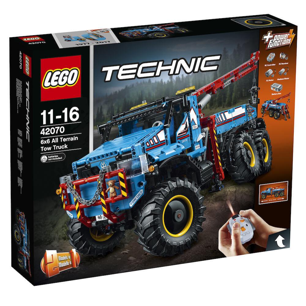LEGO Technic 2 in 1, Camion de remorcare 6x6 42070