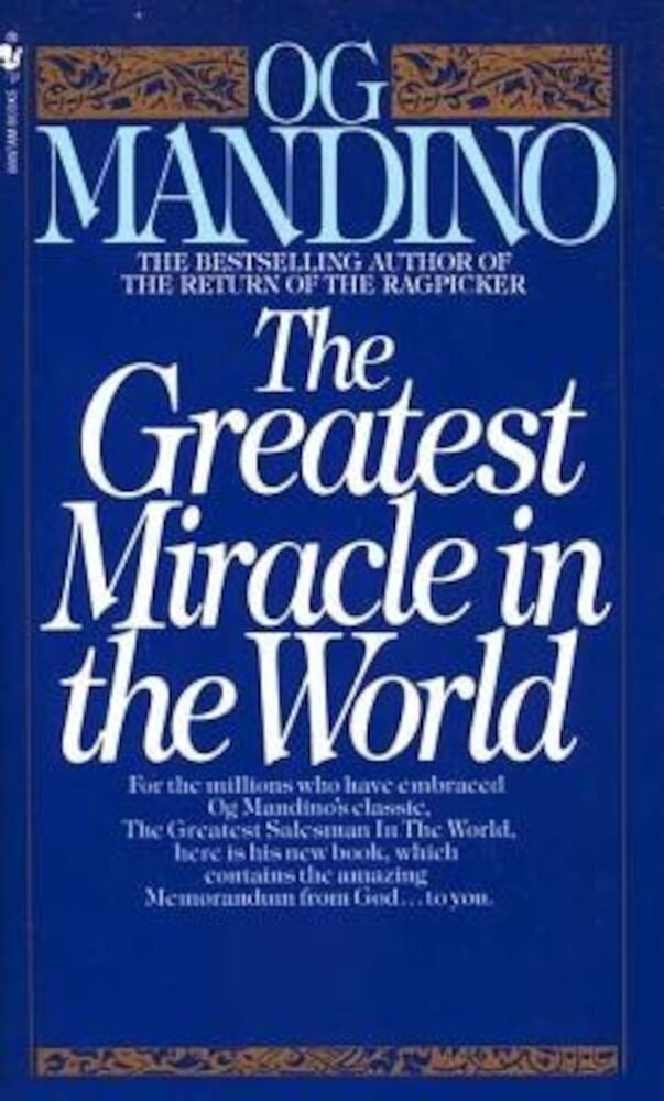 The Greatest Miracle in the World, Paperback