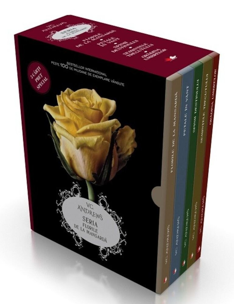 Pachet Florile de la mansarda(5 carti)