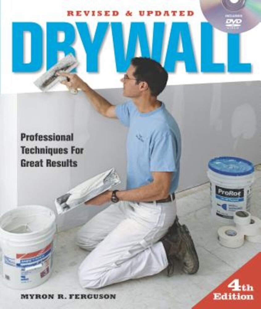 Drywall: Professional Techniques for Great Results [With DVD], Paperback