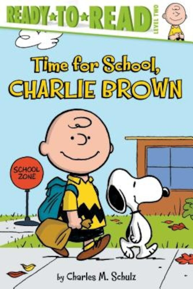 Time for School, Charlie Brown, Paperback