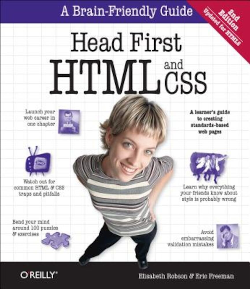 Head First: HTML and CSS, Paperback