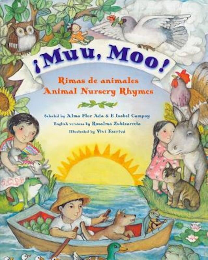 Muu, Moo!: Rimas de Animales/Animal Nursery Rhymes, Hardcover