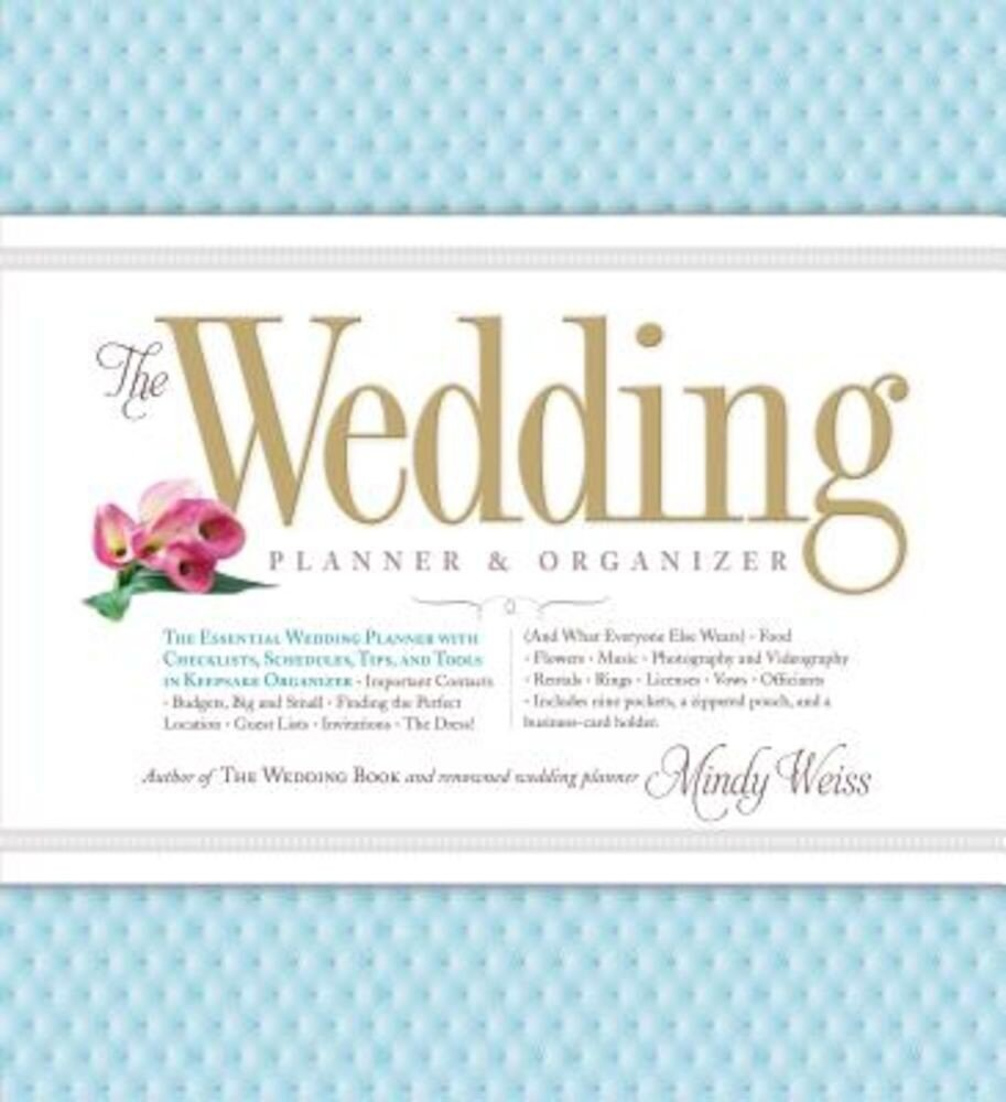 The Wedding Planner & Organizer, Hardcover