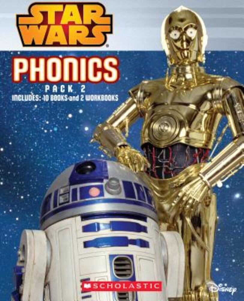 Star Wars Phonics Boxed Set #2 (Star Wars), Hardcover