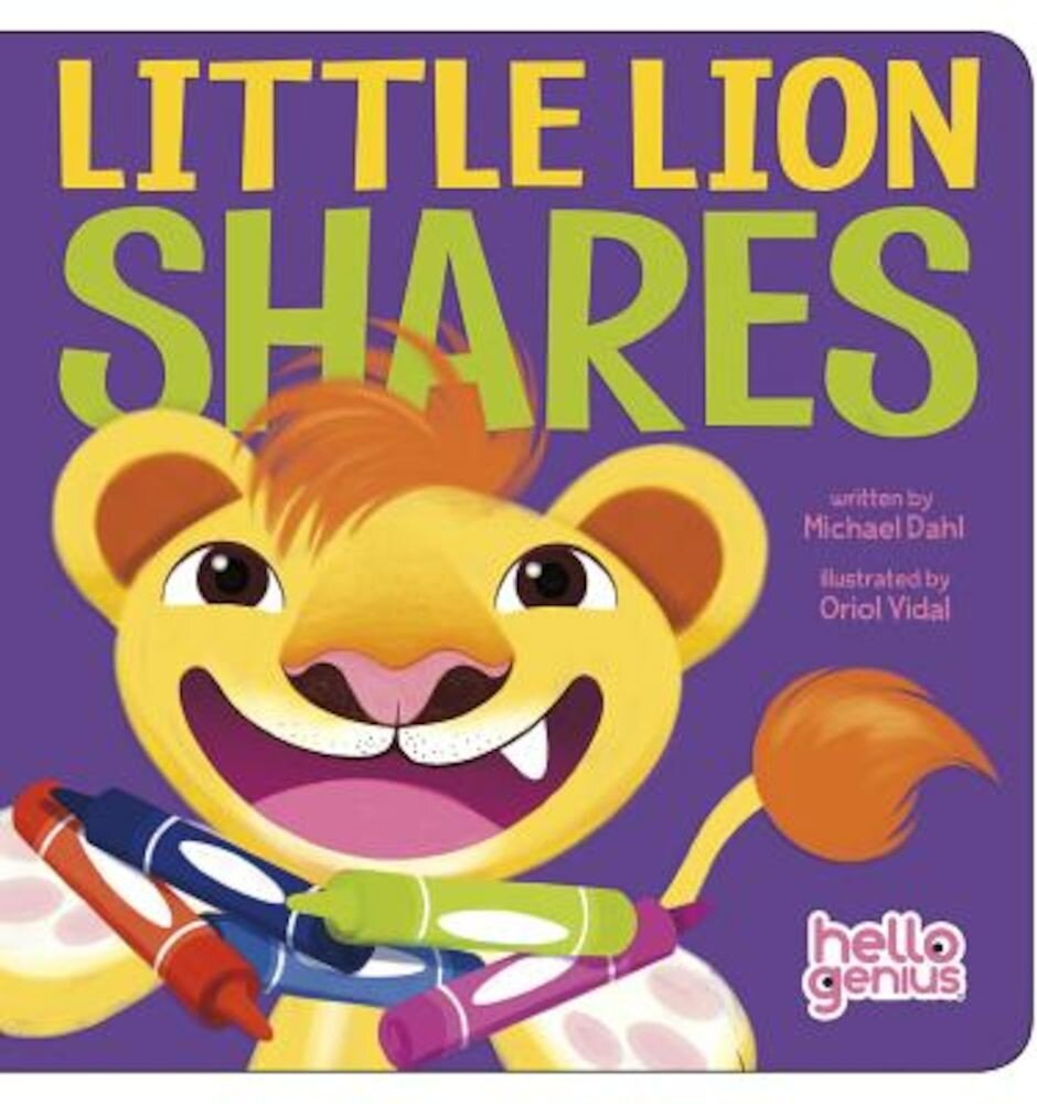Little Lion Shares, Hardcover