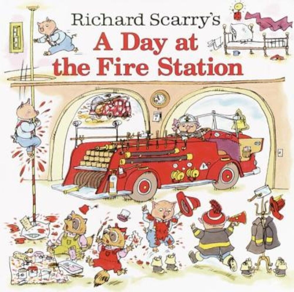 A Day at the Fire Station, Hardcover