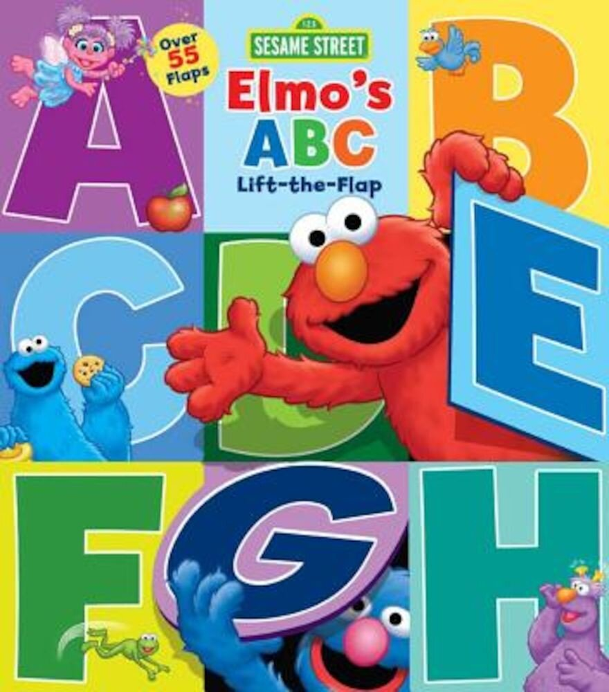 Sesame Street: Elmo's ABC Lift-The-Flap, Hardcover