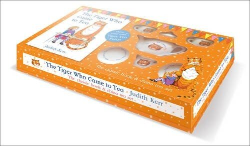 The Tiger Who Came to Tea - China Tea Set