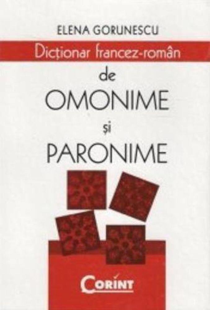 Dictionar francez-roman de omonime si paronime