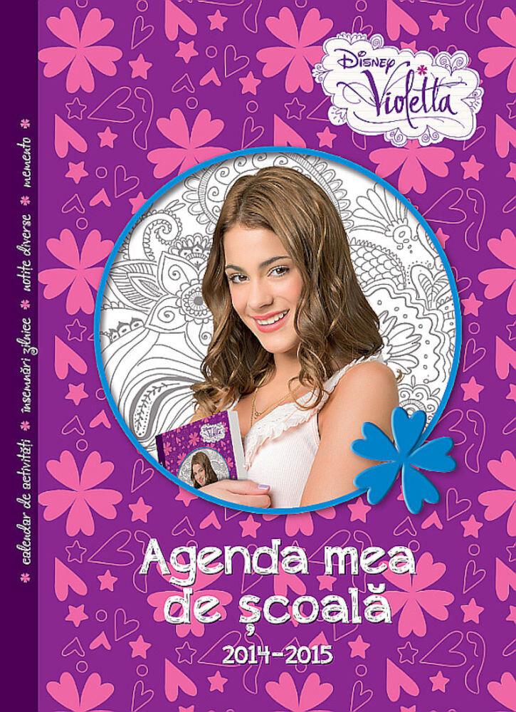 Disney Violetta. Agenda mea de scoala, 2014-2015