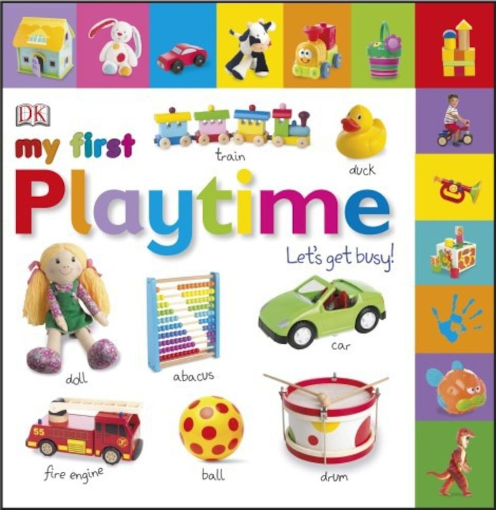 Coperta Carte My First Playtime Let's Get Busy!