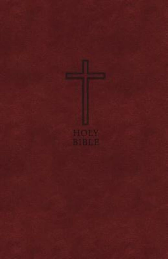 KJV, Thinline Bible, Large Print, Imitation Leather, Red Letter Edition, Hardcover