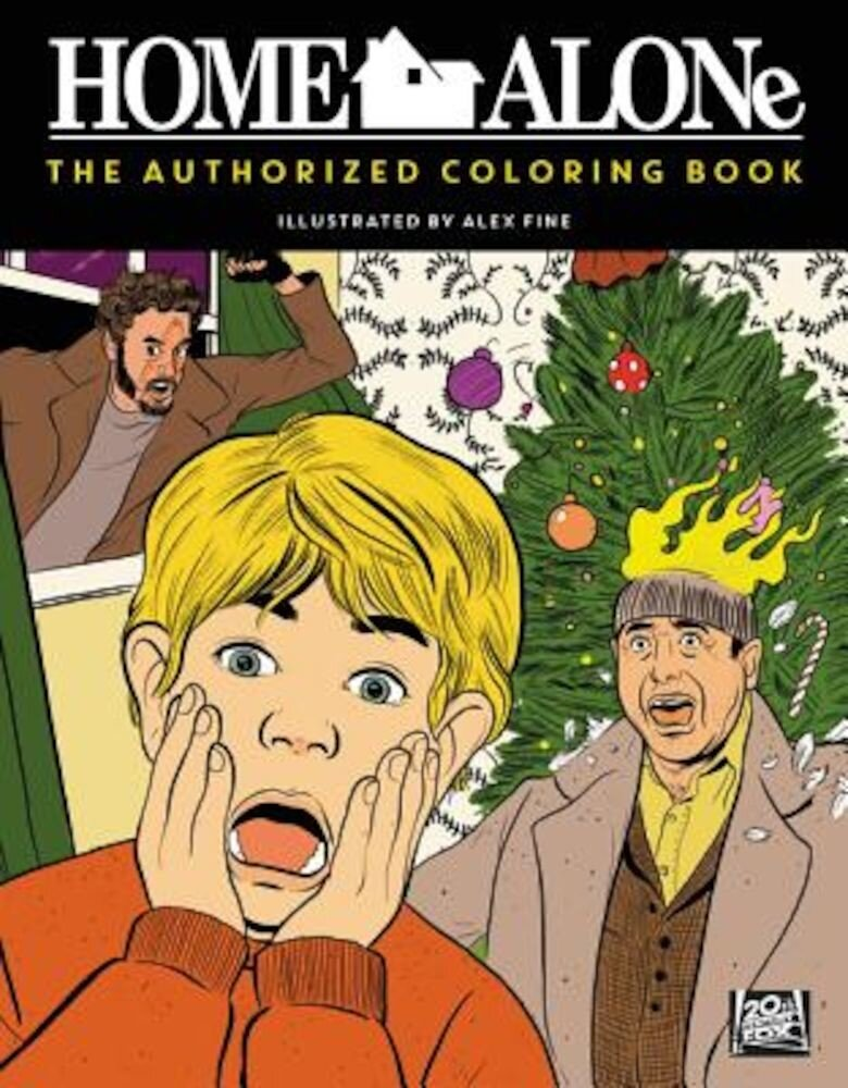 Home Alone: The Authorized Coloring Book, Paperback