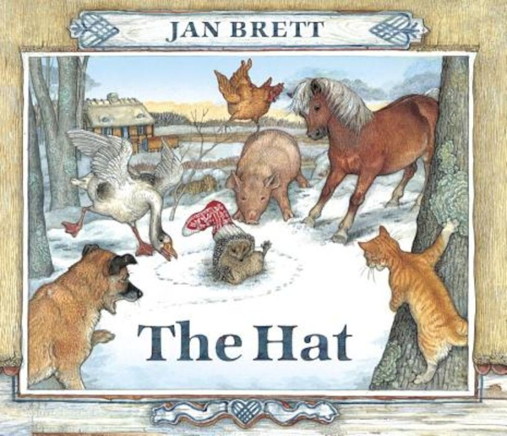 The Hat: Oversized Board Book, Hardcover