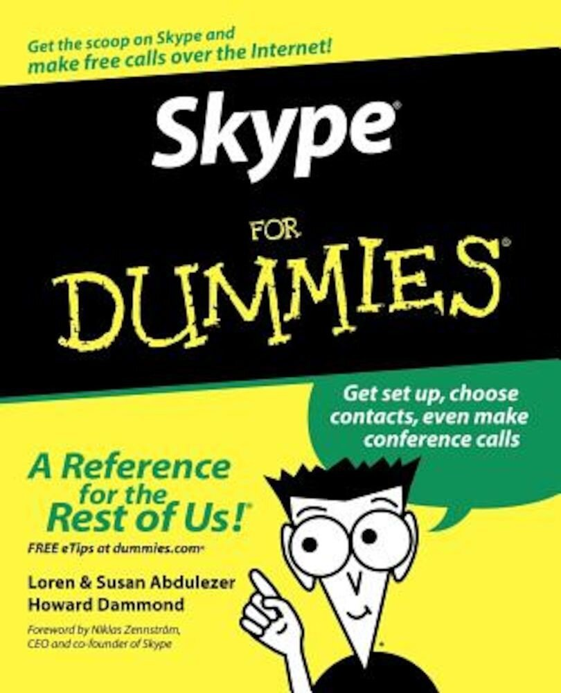 Skype for Dummies, Paperback