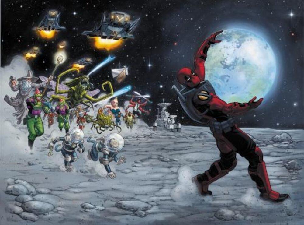 Deadpool: World's Greatest Vol. 9: Deadpool in Space, Paperback