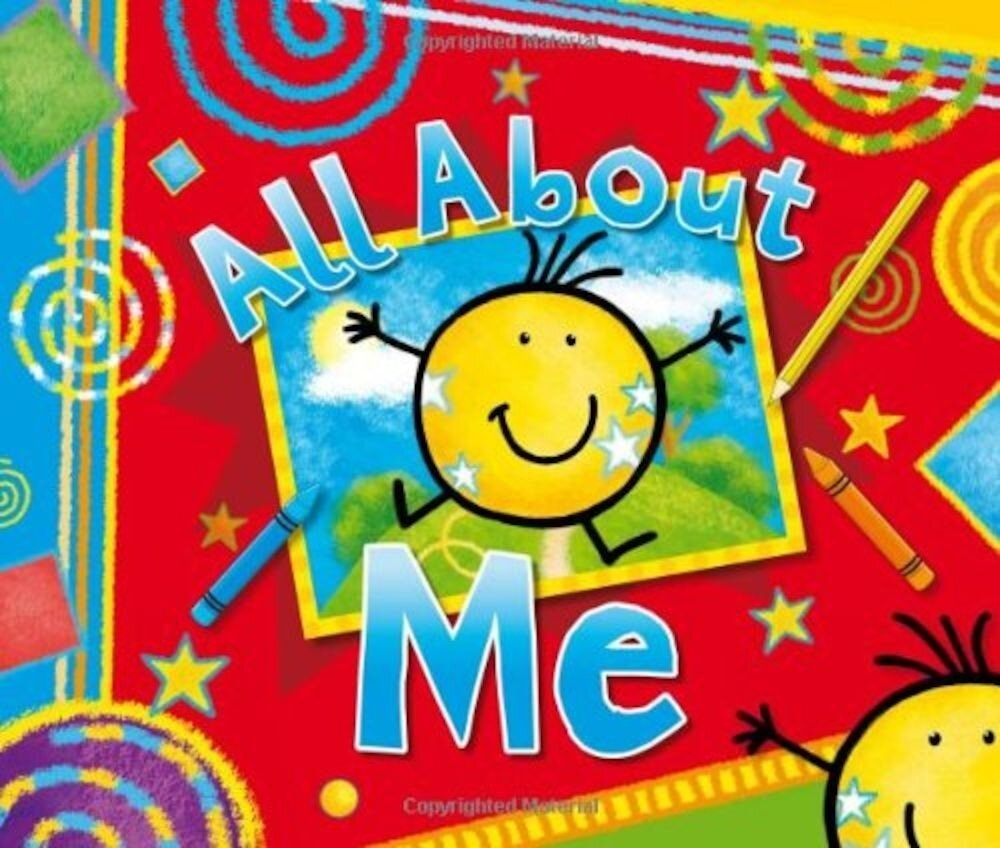 All About Me Book+ Keepsake Box