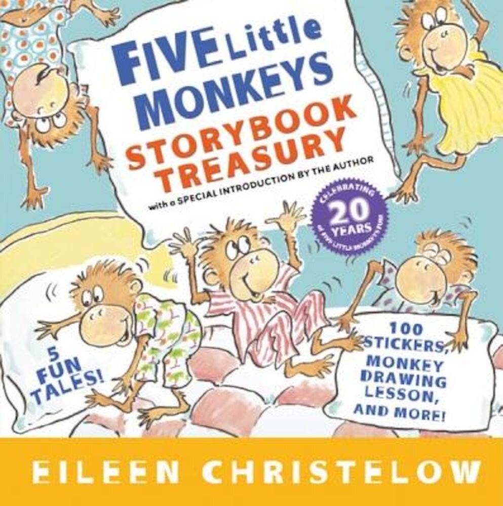 Five Little Monkeys Storybook Treasury, Hardcover