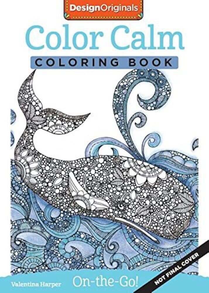 Color Calm Coloring Book: Perfectly Portable Pages