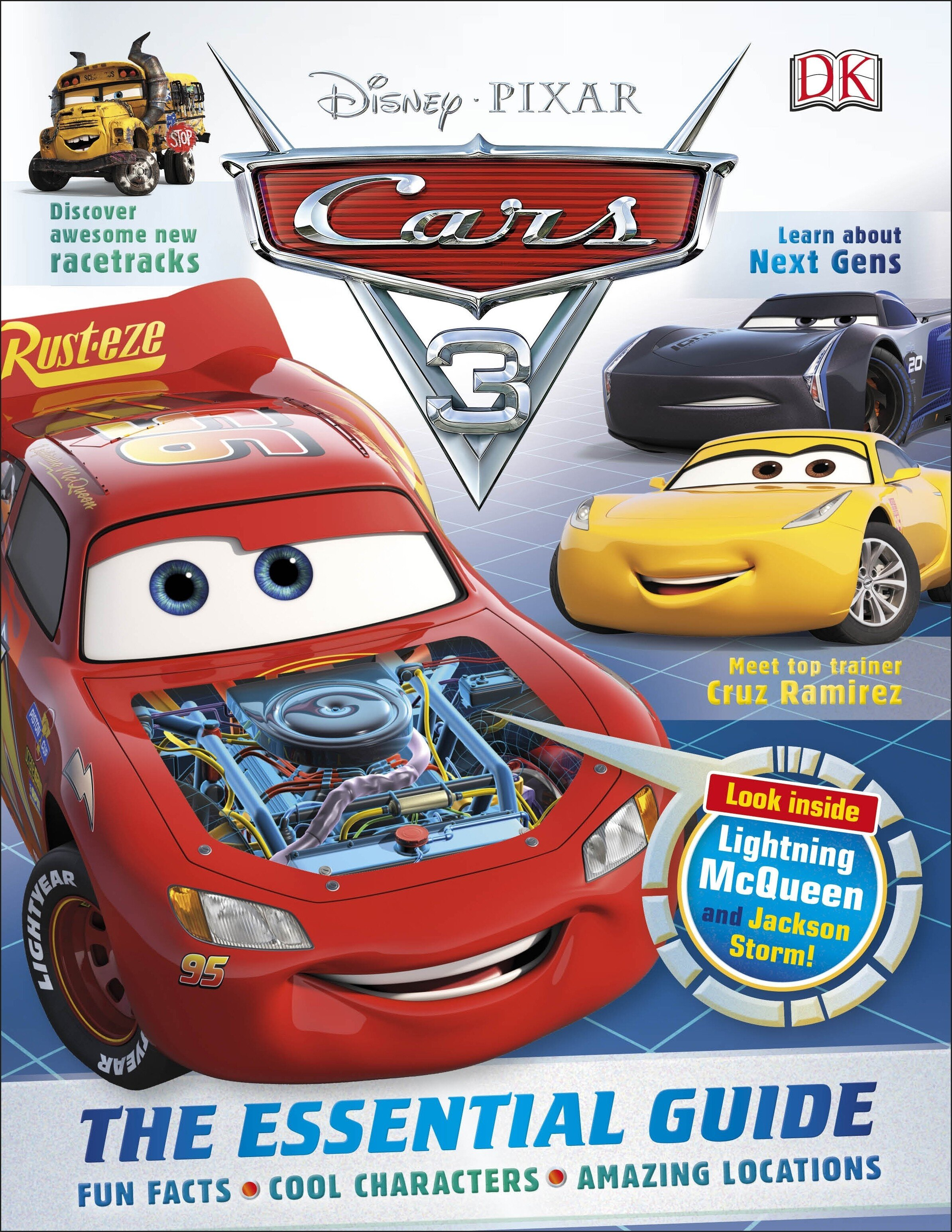 Disney Pixar Cars 3. The Essential Guide