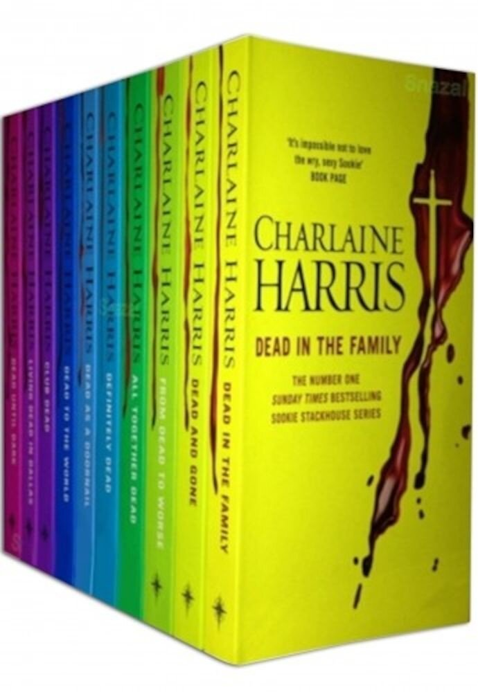 Sookie Stackhouse Series True Blood 10 Books Collection
