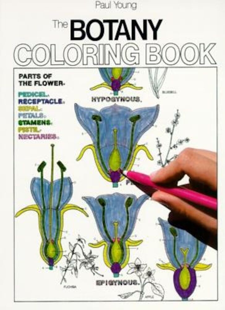 Botany Coloring Book, Paperback