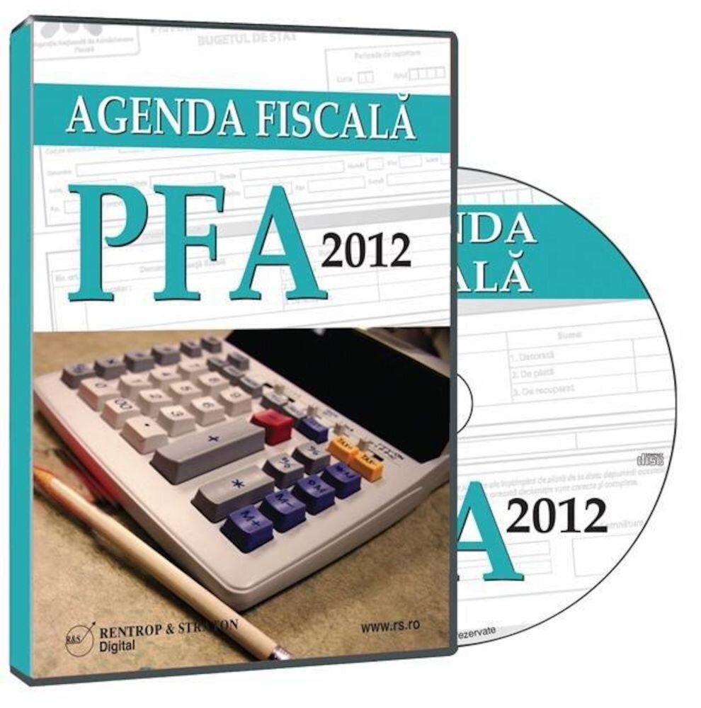 Agenda fiscala PFA 2012