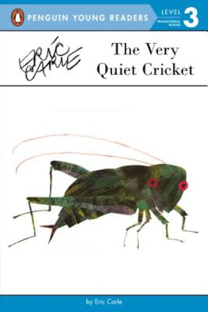 The Very Quiet Cricket, Paperback