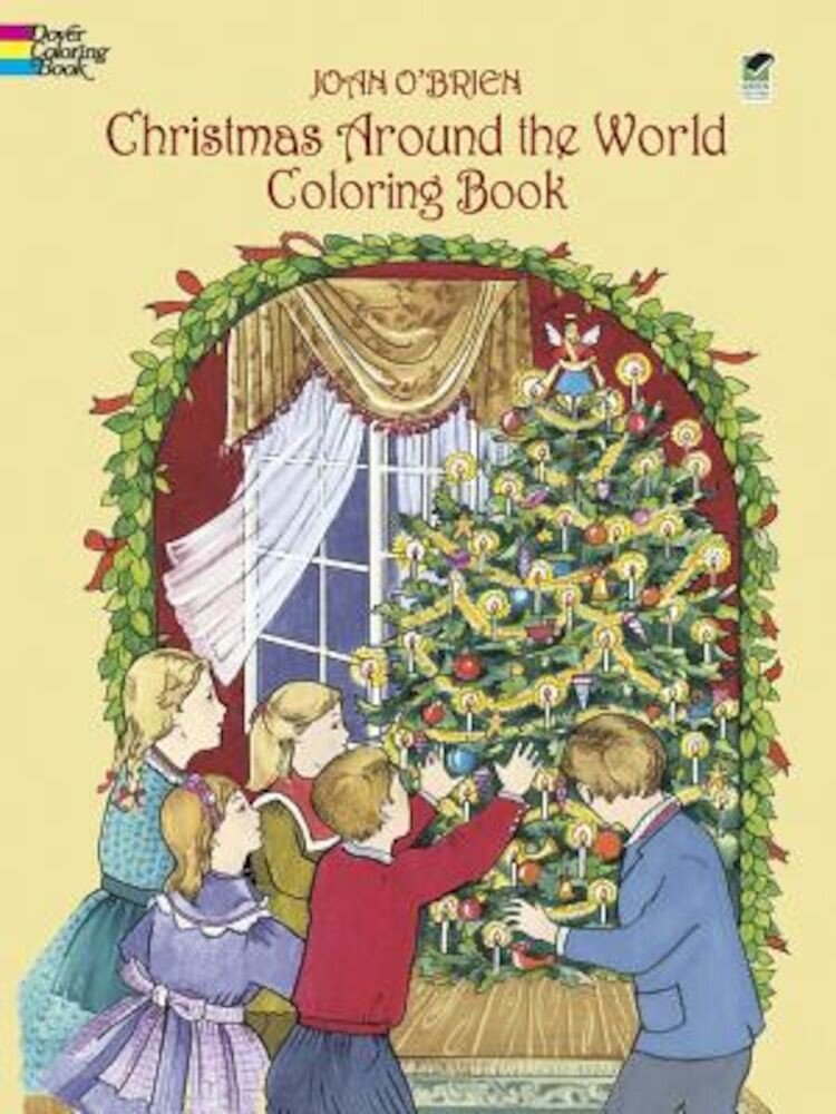 Christmas Around the World Coloring Book, Paperback