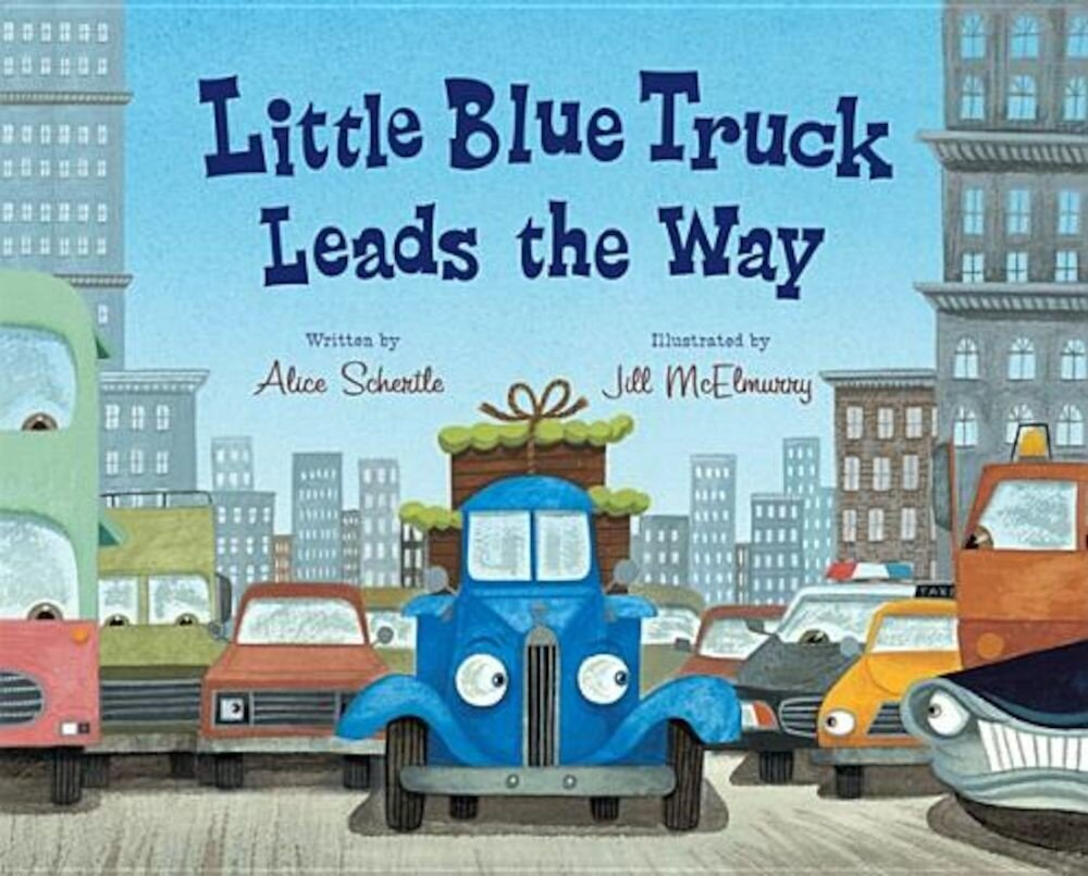 Little Blue Truck Leads the Way, Hardcover