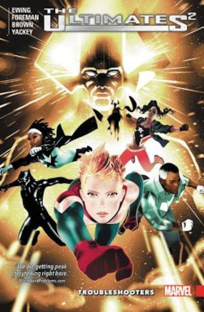 Ultimates 2, Volume 1: Troubleshooters, Paperback